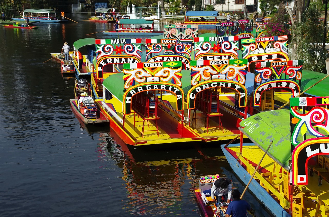 Canals of Xochimilco