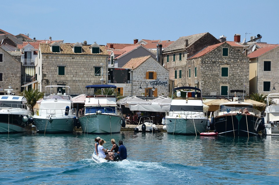 City Of Primosten In Croatia