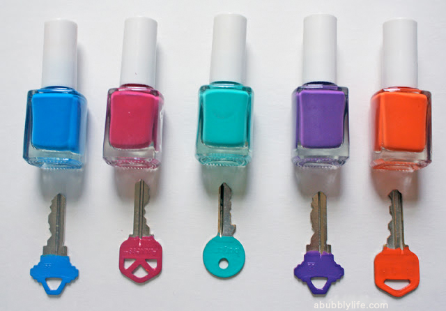 DIY color coding keys