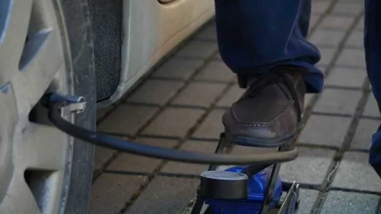 Car-Air Foot Pump